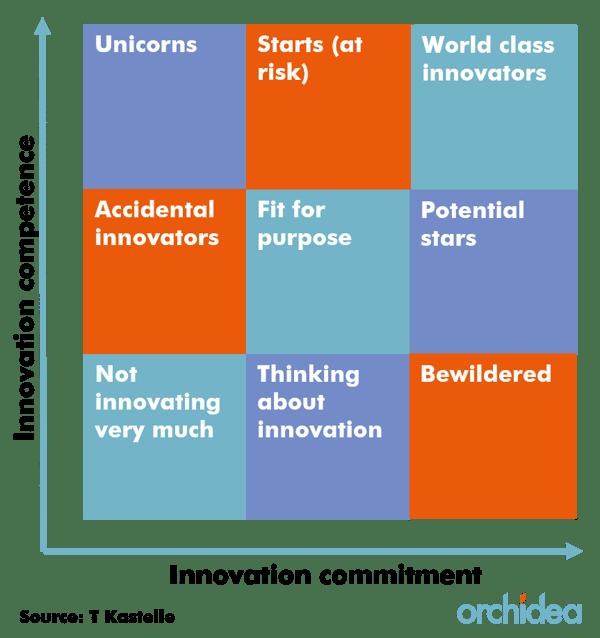 The innovation matrix - organizational maturity